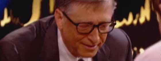 ビル・ゲイツと世界チャンピオンのチェス対戦