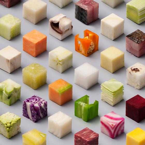 5センチの立方体3