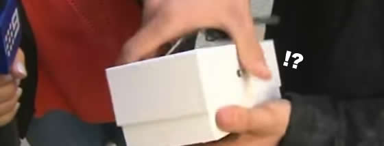 買ったばかりのiPhone6を落とす
