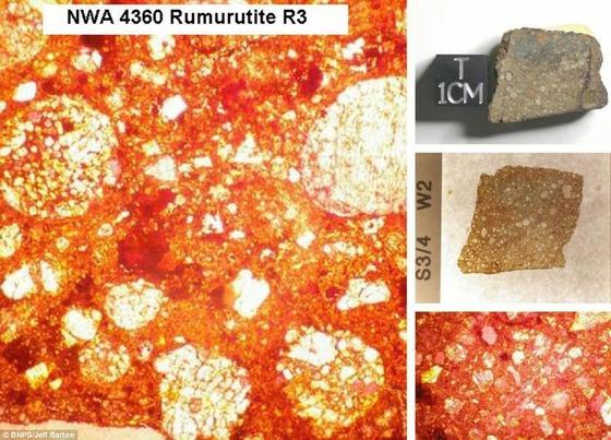450億年前の隕石の中はまるで万華鏡の様な美しさ8