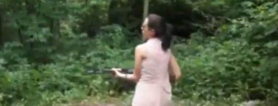 銃を持ったら