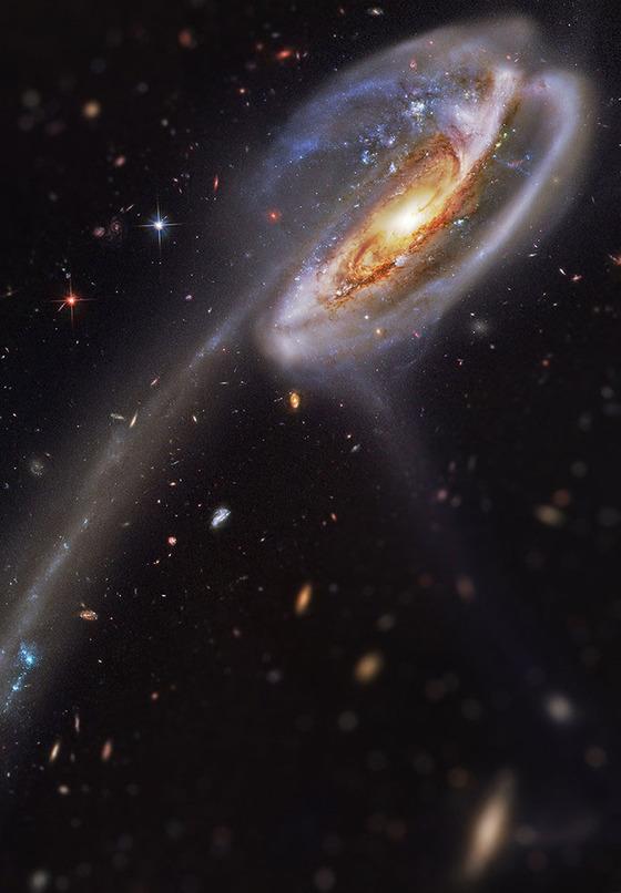 宇宙をミニチュア風の画像にしてみると7