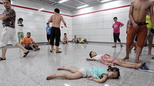 中国の避暑方法が凄い11