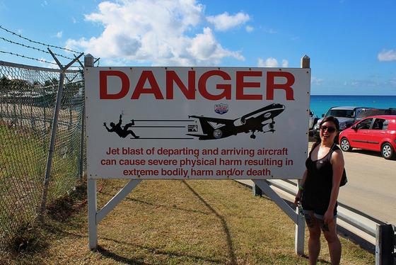 マホビーチの空港5