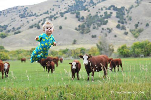 赤ちゃんが空を飛ぶ4