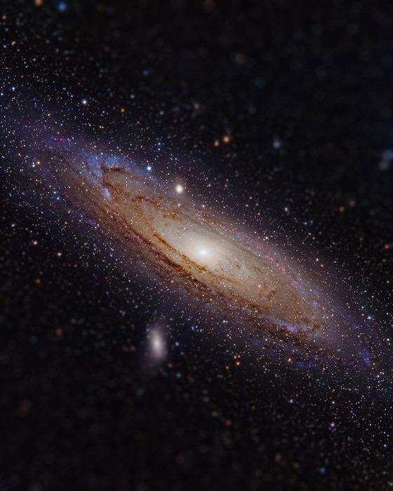 宇宙をミニチュア風の画像にしてみると8