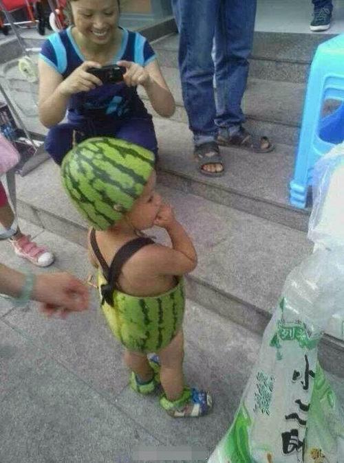 中国の避暑方法が凄い13
