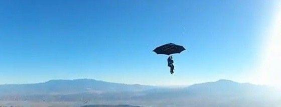 メアリーポピンズみたいに傘で飛べるかガチで試してみた