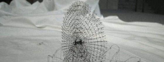 繊維で作るファイバーアート