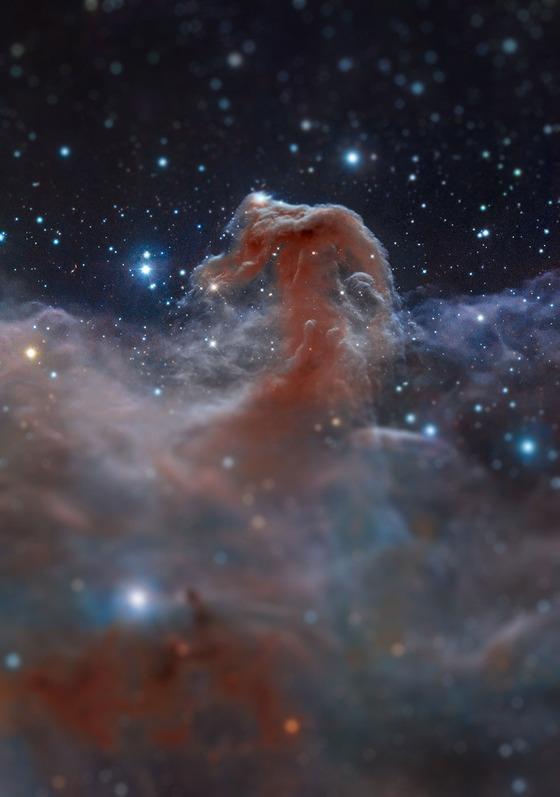 宇宙をミニチュア風の画像にしてみると1