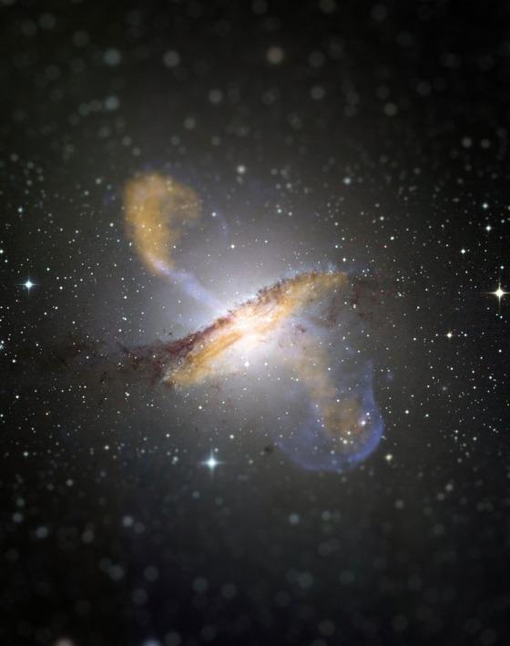 宇宙をミニチュア風の画像にしてみると3