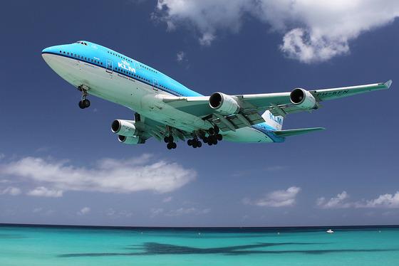 マホビーチの空港8