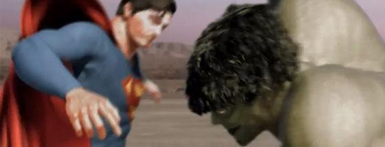 スーパーマンvsハルク
