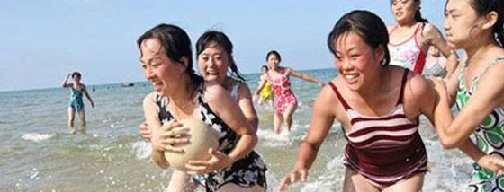 北朝鮮の人々