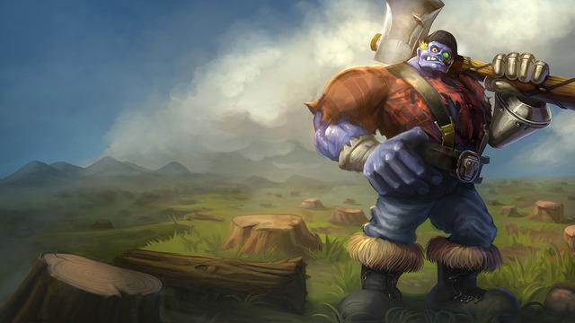 Lumberjack-Sion
