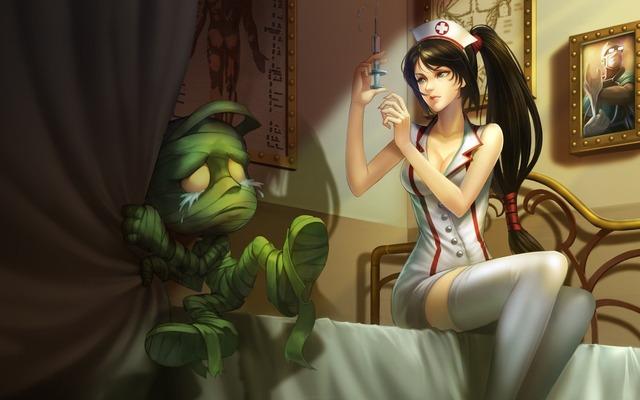 Anime-amumu-shots-nurse-akali-art