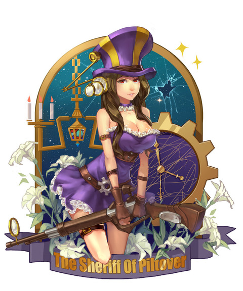 League-of-Legends-фэндомы-Caitlyn-1954079