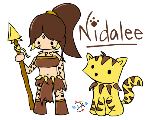 league_of_legends___nidalee_by_dcheeky_angel-d3eipxg