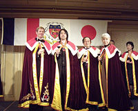 ボルドーワイン騎士団(ボルドーワイン最高評議会)叙任式/写真02