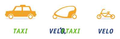 VELOTAXI ベロタクシー イラスト