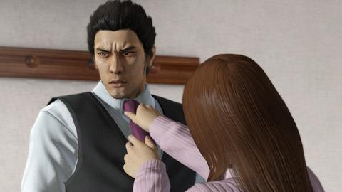 マスクをしない桐生さん彼女に首を絞められ着けろと脅されます