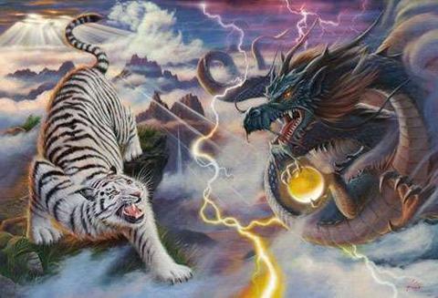 青龍と白虎