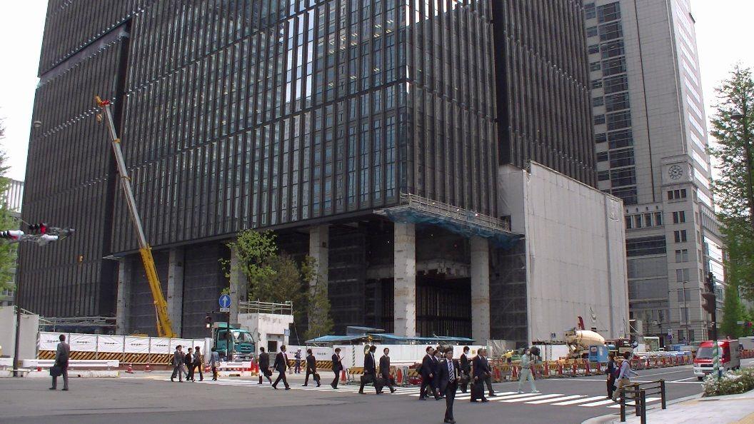 東京工事風景