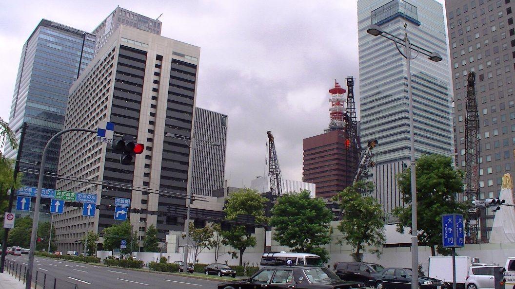 旧三和銀行東京ビル消滅!(完) : 東京工事風景