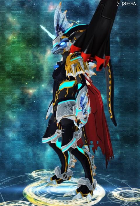 アクセの表示されるタイプのスーツ