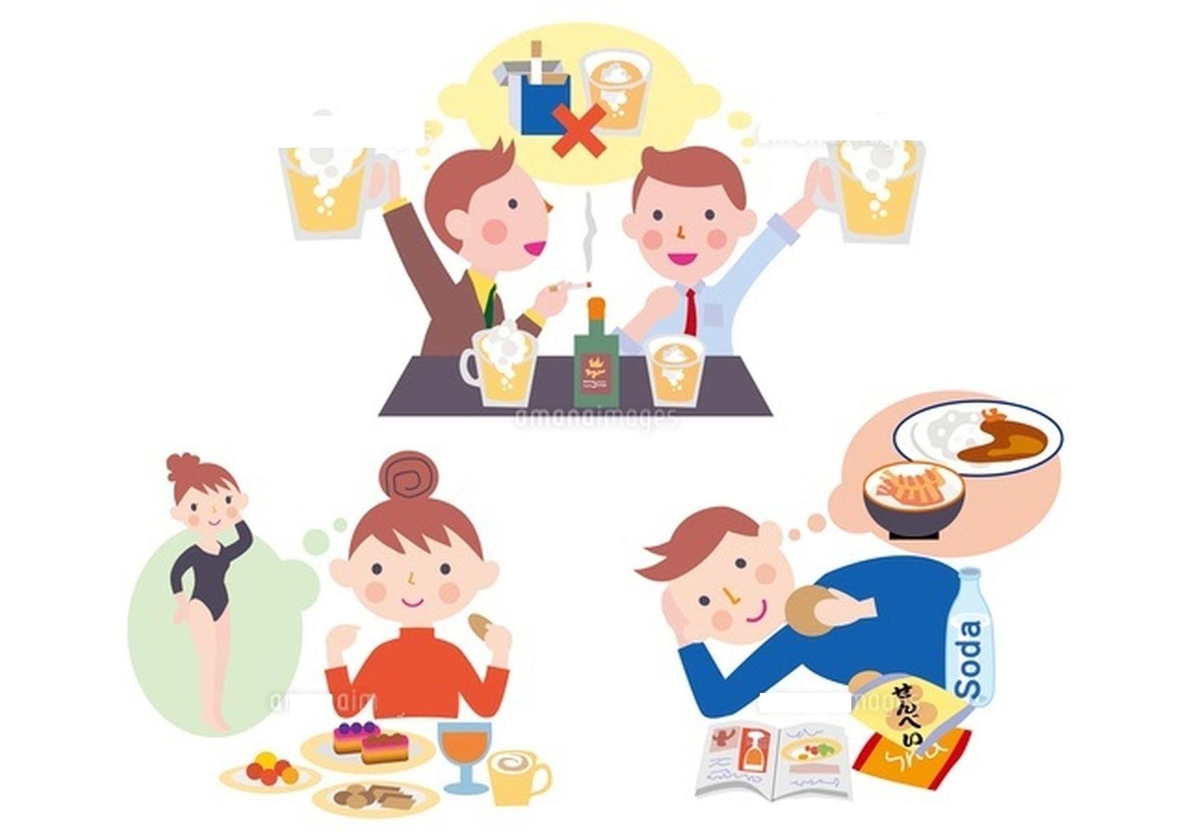 生活習慣病の注意暴飲暴食