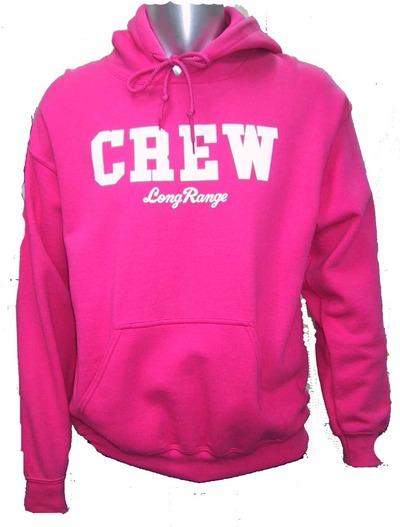 CREWパーカーピンク