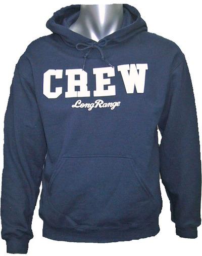 CREWパーカー紺