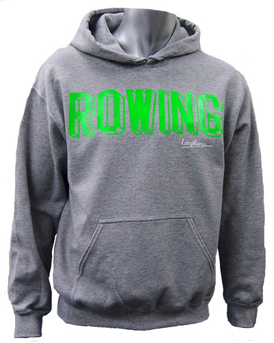 パーカー ROWING 20160220灰緑前