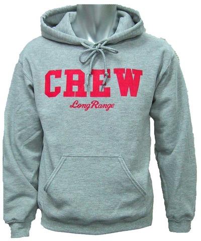 CREWパーカー灰