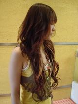 ロングEX巻き髪