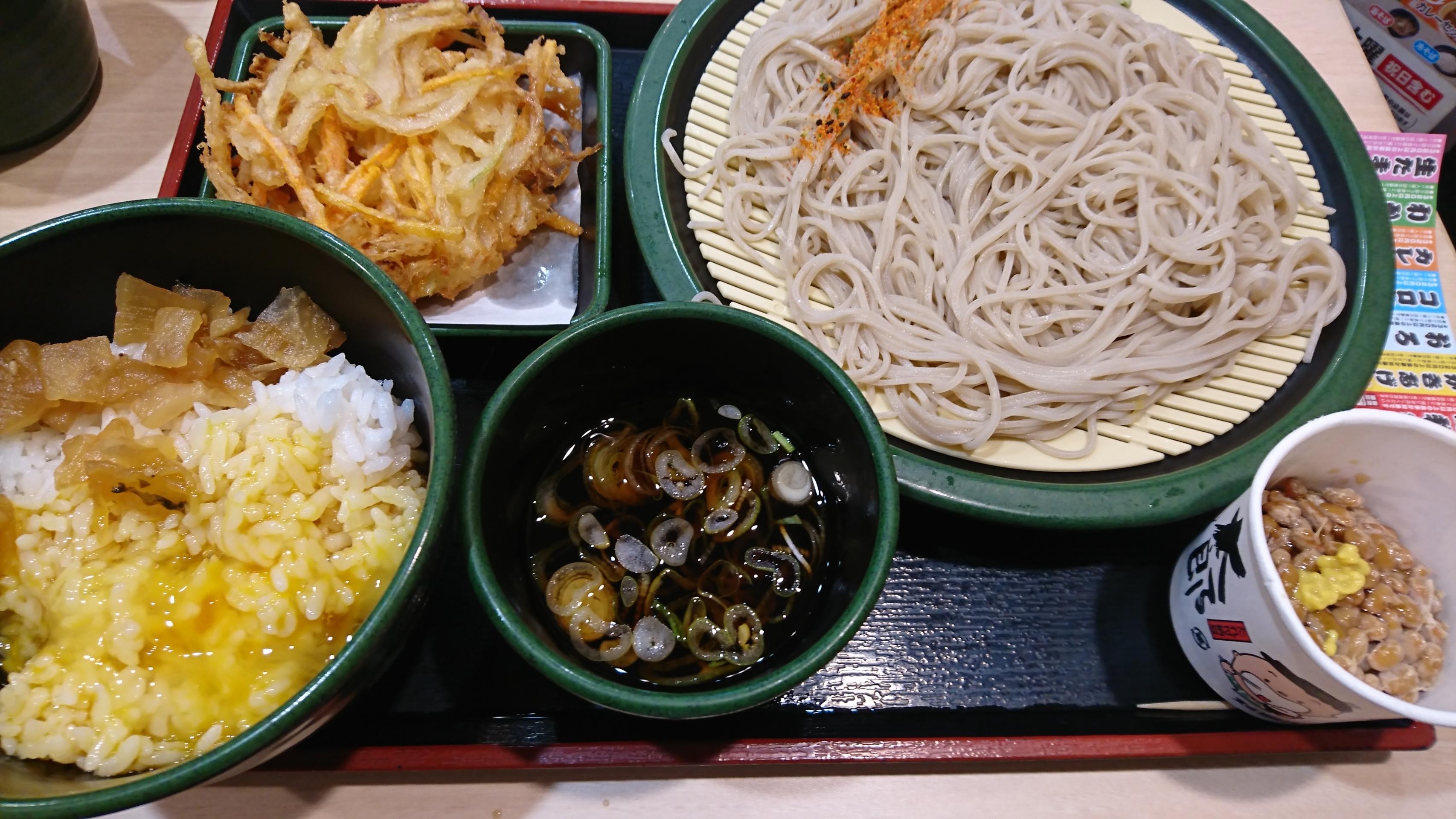 ゆで 太郎 朝食