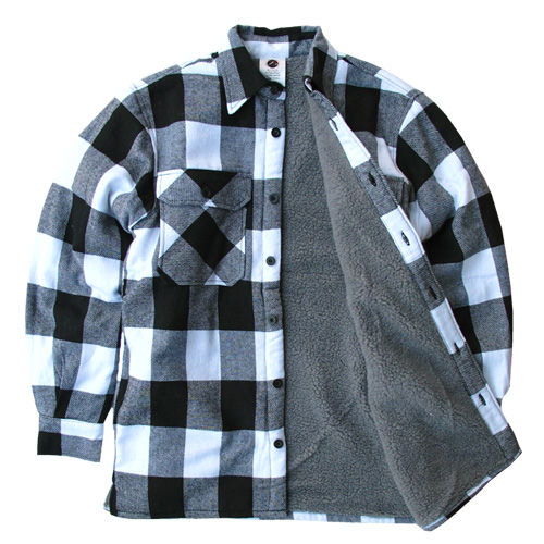 ROTHCO #3739 Buffalo Plaid Flannel Jacket ...