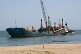 2007/6/19台船到着