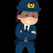 police_warui_woman
