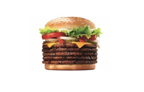 【画像】バーガーキングから肉5枚入りバーガーが発売wwwwwwwwww