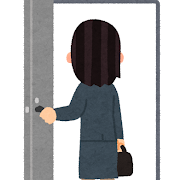 door_in_businesswoman