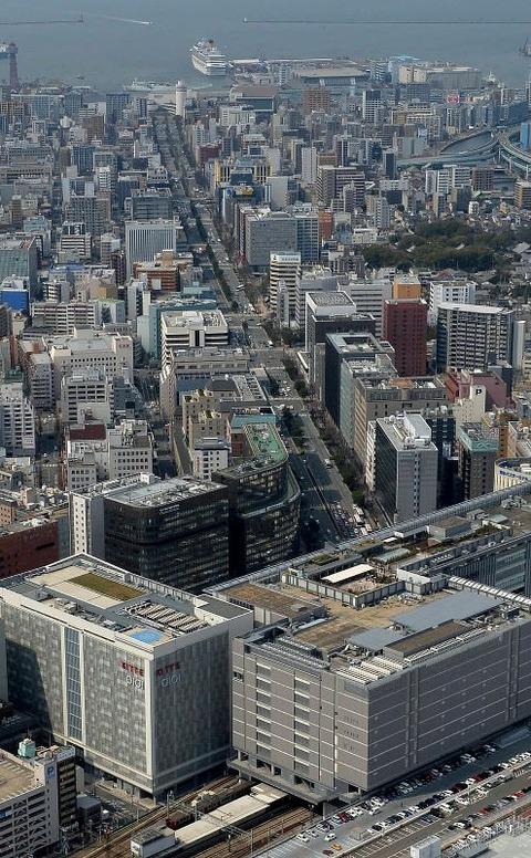福岡「街のど真ん中にロープウェイ通すばい!!」