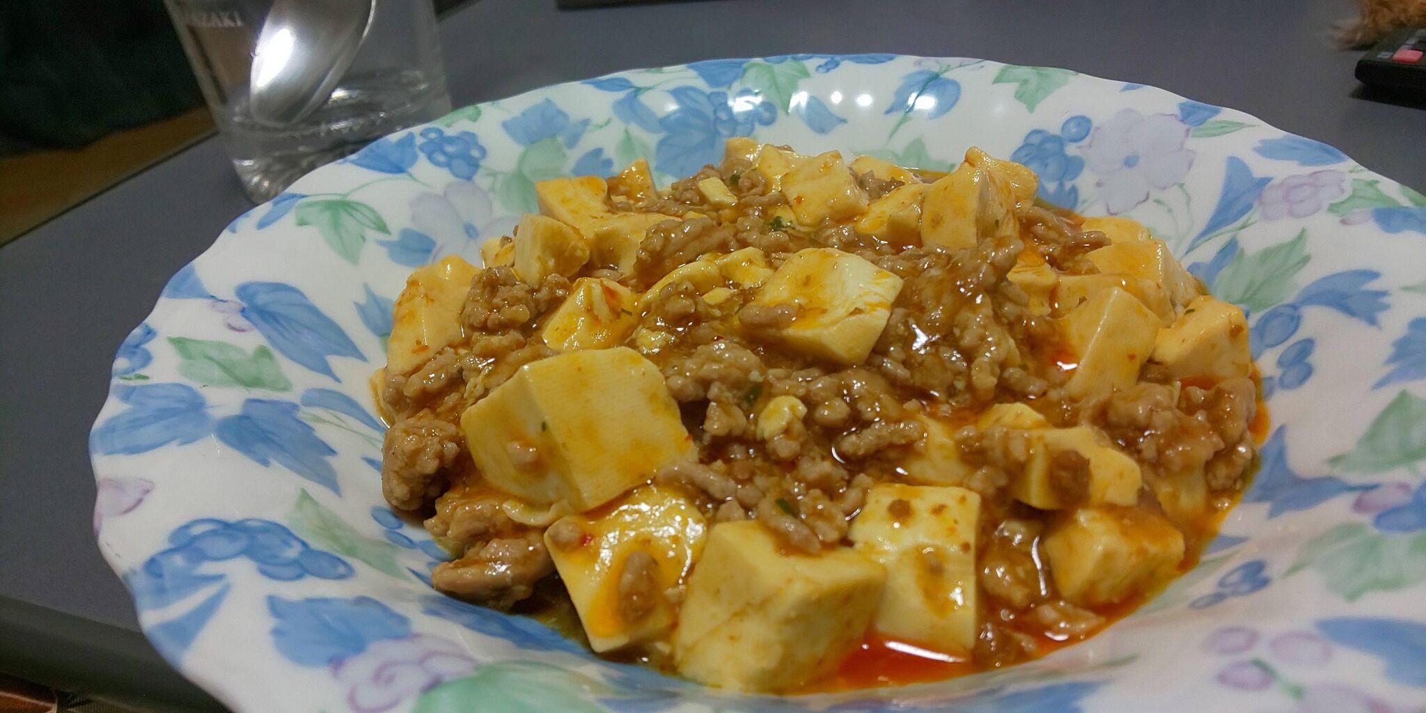 麻婆豆腐作ったったったwwwwwwwwwwwww