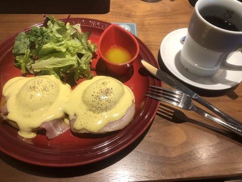 【画像】僕の優雅な朝ごはん(1200円)