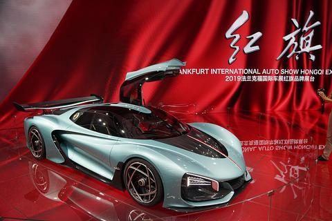 【画像】中国「紅旗」のスーパーカーがカッコいいと話題に 最高速400km、1400馬力、0100km加速19秒