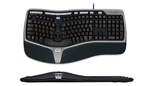 こんなキーボードを使ってた時 ...