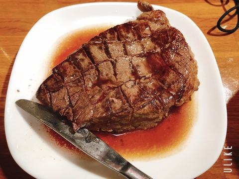 【画像】祝日なのでステーキ焼いたよ