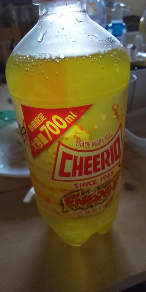 【画像】今から700mlのジュース飲みきるwww