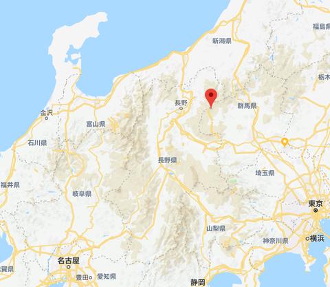 【火山】草津白根山 白根山(湯釜付近) 噴火警戒レベル2に引き上げ