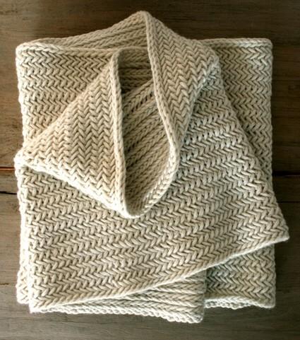 Herringbone Knit Stitch Bind Off : ?michelin loves knitting? : ????